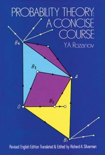 Probability Theory: A Concise Course (Dover Books on Mathematics) by Iu.A. Rozanov (1978-08-21)
