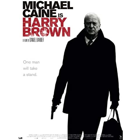 Harry Brown Poster film danesi In 11 17 x 28 cm x 44 cm, Michael Caine Emily Mortimer Iain Glen Liam Cunningham Jack O'Connell
