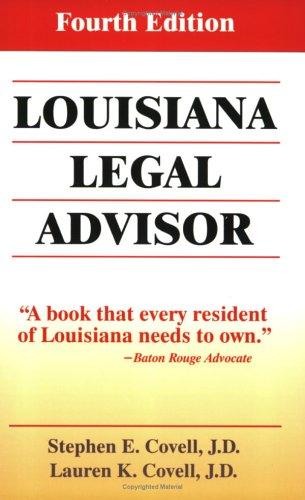 Louisiana Legal Advisor por Lauren K. Covell
