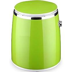 Syntrox Germany 3kg WM DI 380W lavatrice con fionda Camping lavatrice Mini Lavatrice (verde)