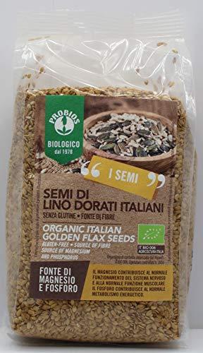 PROBIOS Italienische gold-Leinsamen - glutenfrei, 6er Pack (6 x 500 g)