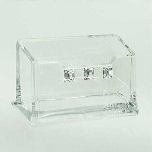 Organiseur de bureau en plexiglass avec Swarovski® crystals