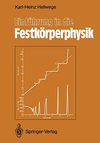 Einführung in die Festkörperphysik (German Edition)