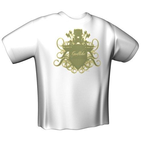 Preisvergleich Produktbild GamersWear GODLIKE T-Shirt White (XL)