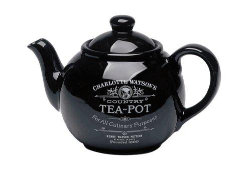 Charlotte Watson Teapot - Black
