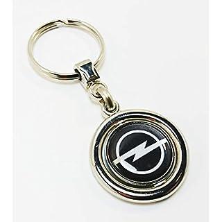 auto-badges Schlüsselanhänger, drehbar, Metall, Geschenk