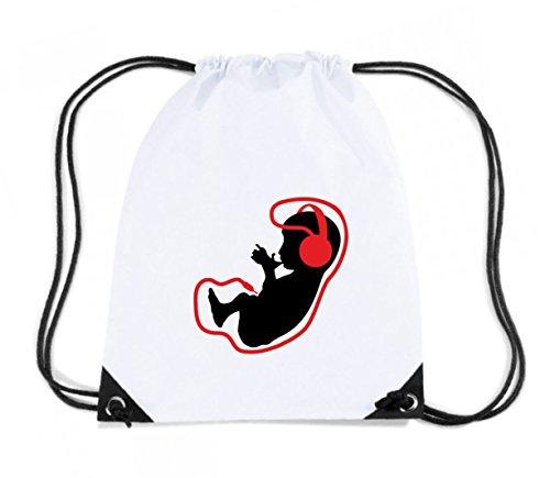 t-shirtshock-rucksack-budget-gymsac-t1021-bimbo-music-fun-cool-geek-grosse-kapazitat-11-liter