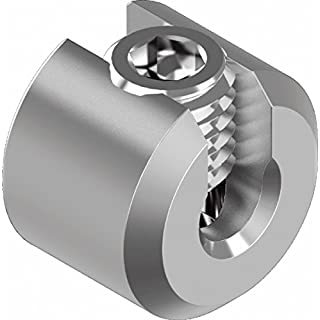 Seilstopper Drahtseil Klemme Drahtklemme Drahtseil Edelstahl VA4 ARBO-INOX Größe 4 mm Seil