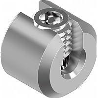 ARBO-INOX Abrazadera, tope para cuerda, abrazadera de alambre, acero inoxidable VA4, 5 mm Seil