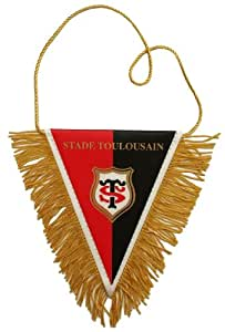 Fanion - Collection officielle - STADE TOULOUSAIN - Toulouse - Rugby - TOP 14 - Taille 10,5 x 8,5 cm