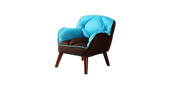 Sunny lazy sofa modern and simple cloth poltrona da lettura della