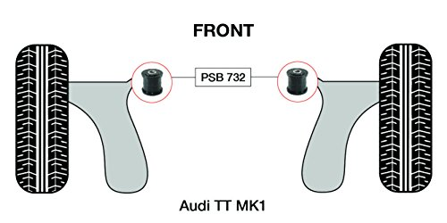 PSB PSB732 Bush TT MK1 (98-06) Baguette avant Wishbone Forgé OD 45 mm