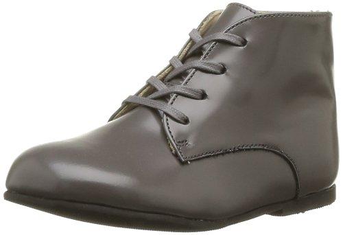 Start Rite Adam, Chaussures montantes mixtes bébé Gris (Grey Leather)