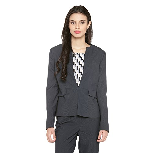 Annabelle by Pantaloons Women's Poly Viscose Blazer