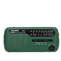 PENG Solar manivela Manual Radio de generación de energía Radio de Emergencia Radio de Banda Completa