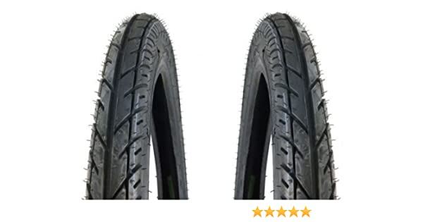 Puch Reifen Simson Mokick Moped Honda Z/ündapp 2.25 x 17 Zoll f/ür Hercules Mofa Kreidler Schlauch Satz 2 1//4 x 17