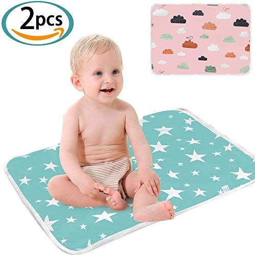 SunTop Bambino Pannolini Tappetino per neonati Pulisci e pulisci il pannolino riutilizzabile portatile Cambia il viaggio impermeabile per i bambini delle ragazze Pieghevole pad