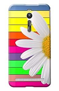 Asus ZenPhone 2 Designer Cover Kanvas Cases Premium Quality 3D Printed Lightweight Slim Matte Finish Hard Back Case for Asus ZenPhone 2