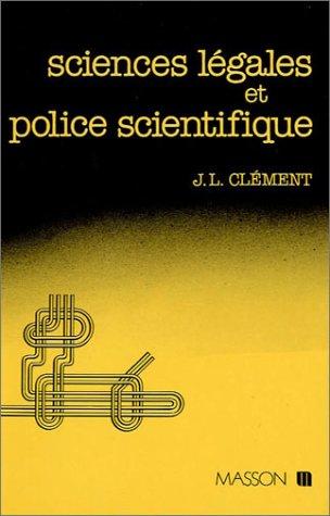 Sciences légales et police scientifique