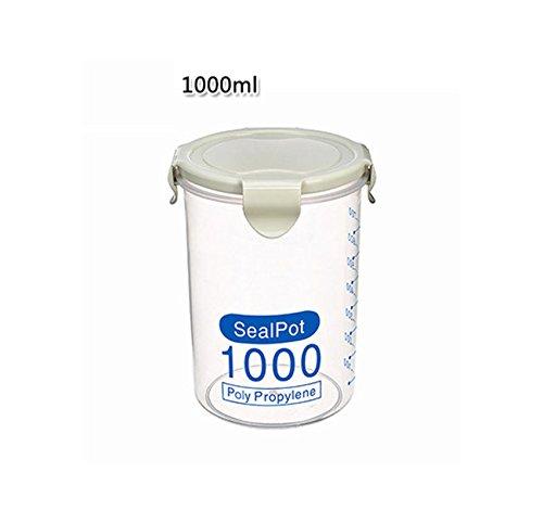Dtuta Staub- Und Auslaufsichere Saubere SanitäRküChe Aufbewahrungsbox Versiegelt Frischhaltetopf Aus Kunststoff