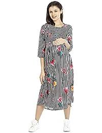 Goldstroms Minelli Long Maternity Gown for Women