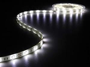 Ruban LED blanc froid 6500K 150 LED 5m 12V
