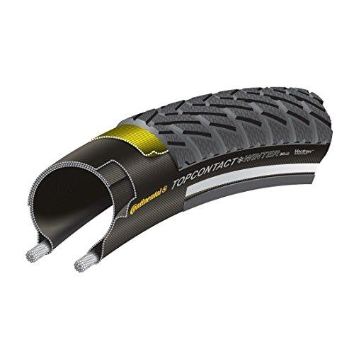 Continental Fahrradreifen/Winterreifen für E-Bikes Top Contact Winter II Premium 700 x 42-42-622 schwarz (15) 0 (Winterreifen Für Fahrräder)