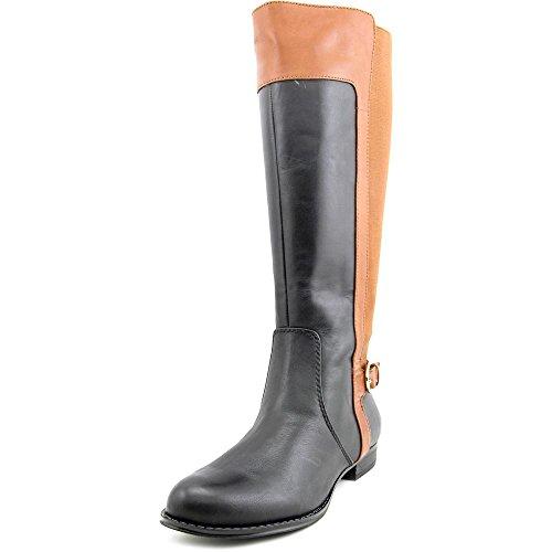 isaac-mizrahi-toby-wide-calf-damen-us-6-schwarz-mode-knie-hoch-stiefel