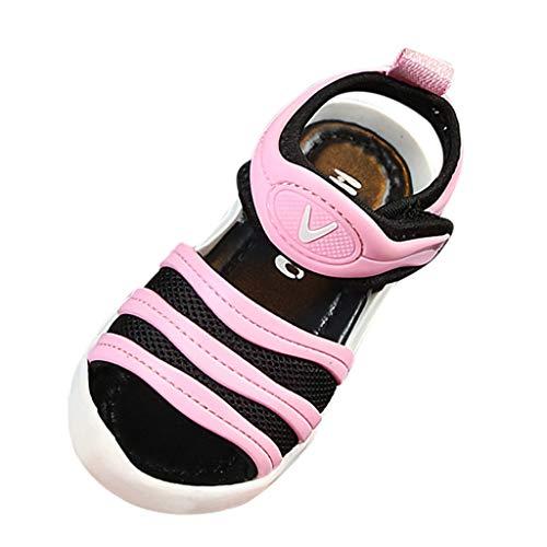 Precioul Kleinkind Baby Girs LED Licht Schuhe,Kinder Jungen und Mädchen fliegen gewebte Turnschuhe leuchtende Laufschuhe leichte Schuhe Sandalen