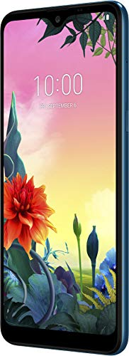 LG K50s Smartphone (16,49 cm (6,49 Zoll) IPS LC-Display, 32 GB interner Speicher, 3 GB RAM, MIL-STD-810G, Android 9.0) Moroccan Blue