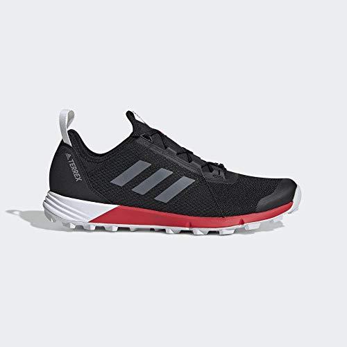 Adidas Terrex Speed, Zapatillas de Senderismo para Hombre, Multicolor Negbás/Ftwbla/Rojact 000, 49...