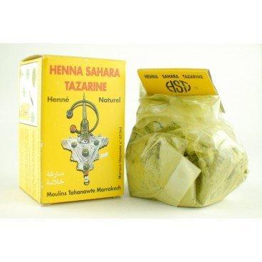 Henné en polvo para el cuerpo tazarine