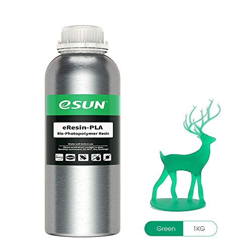 ESUN LCD UV 405nm Plant-based Resin Rápida Biodegradable