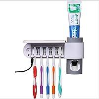 LHFJ Cepillo De Dientes Desinfección Rack UV Cepillo De Dientes Esterilizador Anti-Bacteria Cabeza De Cepillo De Dientes Esterilizador