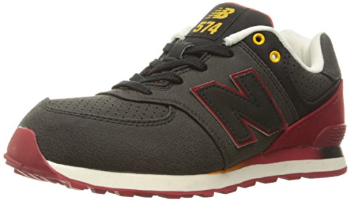 New Balance Youths 574 Classic Leather Trainers Braun 64SJz