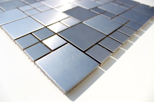 acero-inoxidable-mosaico-cristal-mosaico-azulejos-pared-suelo-silver-style-1matte