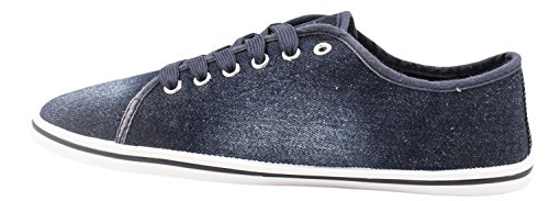 Bassa Sneakers Elara Allacciatura Sportive Blu Comode Scuro Basic Chunkyrayan Sneakers ARqUUwYp