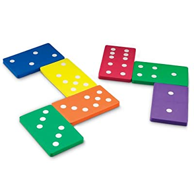 Learning Resources Jumbo Soft Foam Dominoes by Learning Resources
