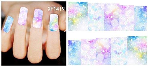 Nicedeco - Adesivi per unghie, nail art fai da te, decorazioni eleganti