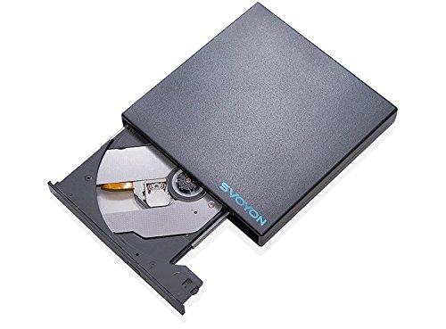 BD Slim Externer Blu-ray/DVD/CD Brenner USB 2.0 Laufwerk für Computer/Notebook/Ultrabook
