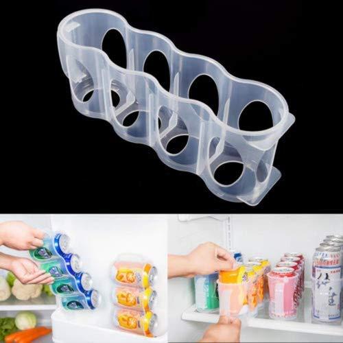 pdhu praktisch Bier Soda Kann Aufbewahrungsbox Küche Kühlschrank Getränke Flasche Halter Organizer (Kühlschrank Soda-halter)
