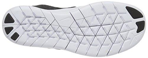 Nike Free Run, Scarpe da Corsa Bambino Nero (Black/metallic Silver/anthracite)