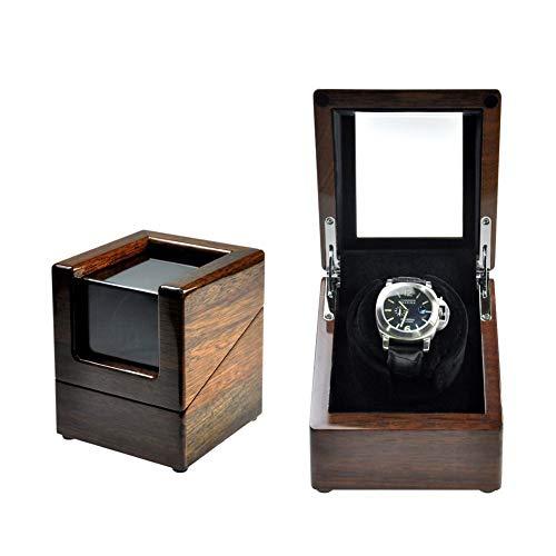 SXM Automatische Sie auf Winder, Holzfaden mit Adjustable [Upgraded] Watchwissen, Wickelspaces, die Winder für automatische Uhren