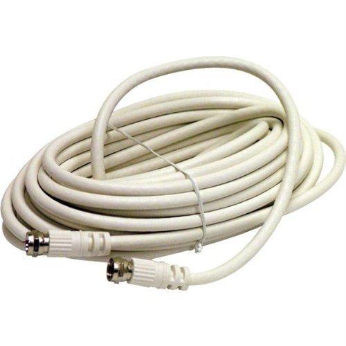 STEREN bl-215–450wh 15.24m weiß Kabel Koaxial–Kabel Koaxial (RG6, 15,2m, weiblich/weiblich, weiß, 1Stück (S))