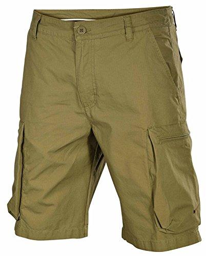 Cargo-jersey-shorts (Nike Herren Woven Performance Cargo Shorts-Oliv-32)