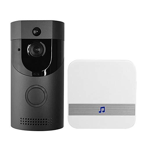 Anytek Dash Cam Wireless WiFi Türsprechanlage Türklingel + Türklingel Empfänger (schwarz UE) Broadroot