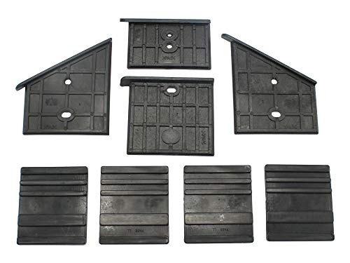 Kunststoffführungen unten und oben passend Stahlmann T8-400 Holzspalter
