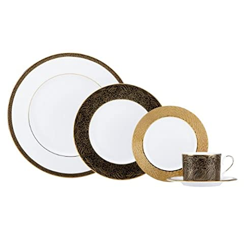 Lenox Marchesa Couture 5-Piece Place Setting, 5-3/4-Inch, Mandarin by Lenox
