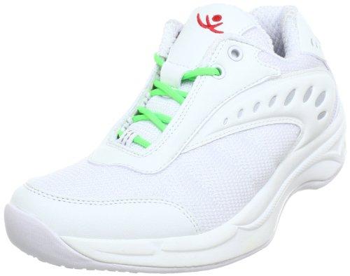 bianco Neon Chung Femme 9100292 Mode Verde Shi Cestini Blanc rqU8qWvwY
