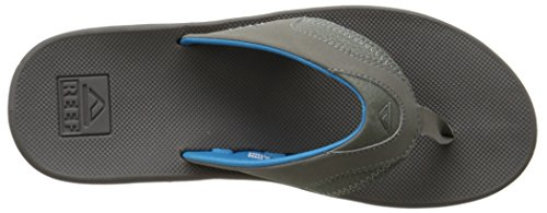 Reef Fanning, Tongs Homme Multicolore (Gunmetal Blue)